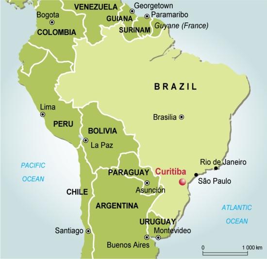 CURITIBA capitale écologique du BRESIL