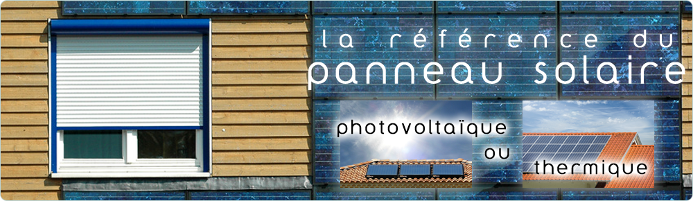Panneau photovoltaïque solaire.net