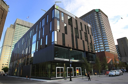 La maison du développement durable à MONTREAL